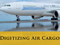 Digitizing Air Cargo vertical banner