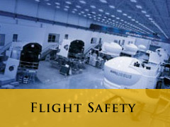 Flight safety vertical banner