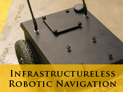 Infrastructure robotic navigation