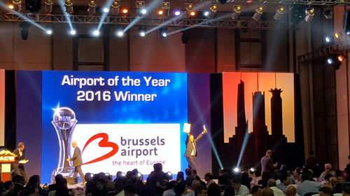 brussels airport award